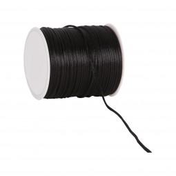 Seidenkordel schwarz 2 mm 100 Meter