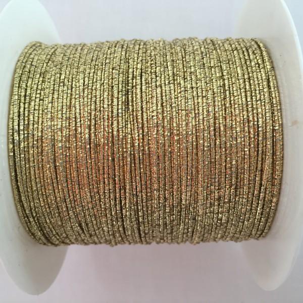 Goldgimpe mit Draht 1 mm 100 m | Gold | Farben | Dekorationsbänder ...