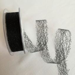 C Web Netzband schwarz 25 mm 25 m