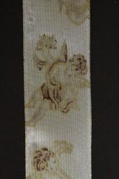 Engel gold creme mit Drahtkante 40 mm 20 m