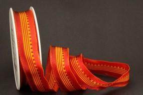 Lybien rot orange 25 mm 20 m