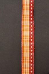 Belfort orange rot mit Drahtkante 15 mm 20 m