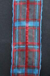 Linea rot blau 40 mm 20 m