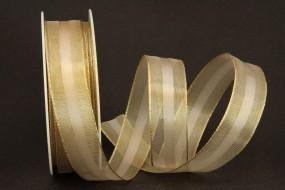 Spyk creme gold 25 mm 20 m