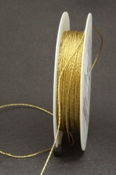 Kordel Gimpe gold 1 mm 50 m