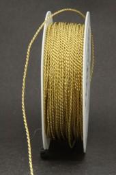 Kordel Gimpe gold 1,5 mm 25 m