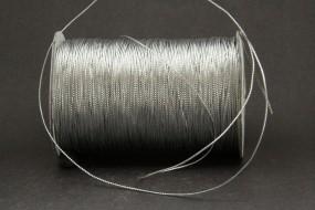 Bindekordel tubolare silber 1 mm 200 m