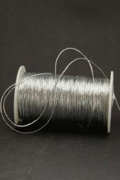 Gimpe silber 0,5 mm 25 m