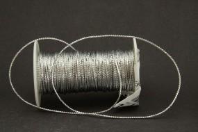 Kordel / Gimpe silber 1,5 mm 25 m