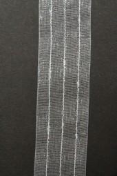 Pagina weiss silber 25 mm 20 m