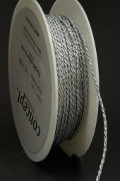 Kordel silber 2 mm 50 m