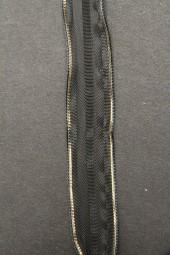 Sultan schwarz gold 15 mm 20 m