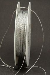 Kordel Gimpe silber 1 mm 50 m