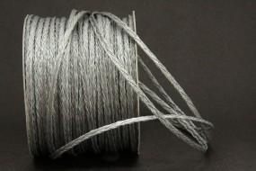 Flechtkordel silber 3 mm 50 m