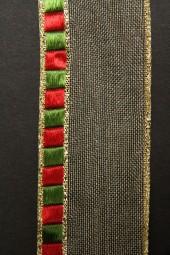 Elegance gold rot grün 40 mm 25 m