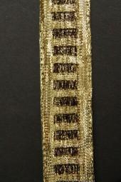 Diamonds gold braun 25 mm 25 m
