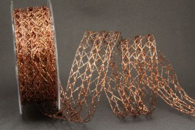 Belize Gitterband kupfer 40 mm 20 m