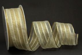 Delicate creme gold 40 mm 25 m