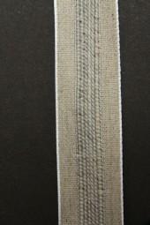 Clodine Leinenband natur 25 mm 20 m
