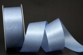 Illusions hellblau Sternmotiv silber 40 mm 25 m