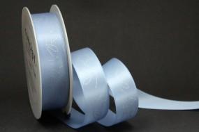 Illusions hellblau Sternmotiv silber 25 mm 25 m