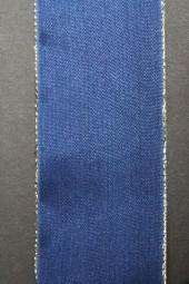 London blau mit Goldrand 40 mm 20 m
