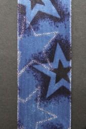 Sterne Palau blau silber 40 mm 20 m