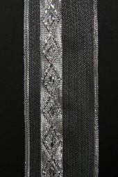 Diamant silber mit Drahtkante 40 mm 25 m