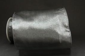Organza Tube silber Schlauchband 150 mm 5 m