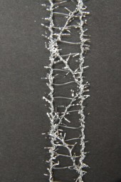 Quadro silber Gitterband silber 15 mm 15 m