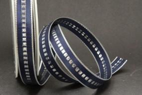 Studio blau silber 15 mm 50 m