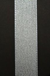 Shimmer silber 25 mm 25 m