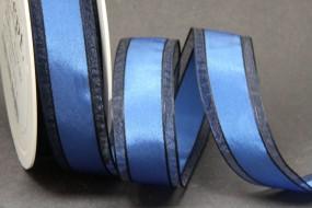 Reflections blau schwarz 25 mm 25 m