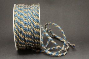 Country Side Kordel blau braun 5 mm 25 m