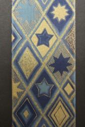 Ambara blau gold 70 mm 20 m