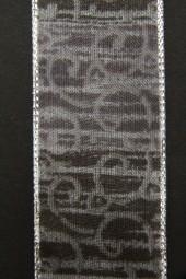 Freiburg grau silber 40 mm 15 m