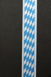 bayerische Raute blau weiss 15 mm 20 m