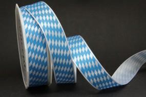 bayerische Raute blau weiss 25 mm 20 m