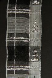 Bolivien silber mit Drahtkante 40 mm 20 m
