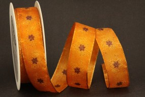 Pretty orange braun 25 mm 20 m