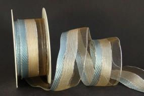 Paros hellblau silber 40 mm 20 m