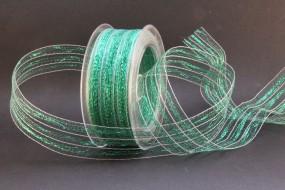 Transparent grünmetallic 40 mm 20 m