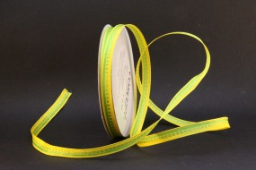 Woven Stripes gelb grün 10 mm 25 m