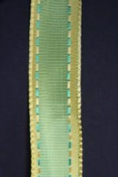 Romantik grün gelb 25 mm 20 m