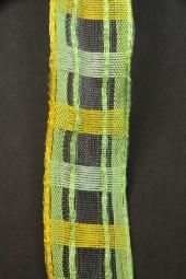 Katka grün gelb 25 mm 15 m