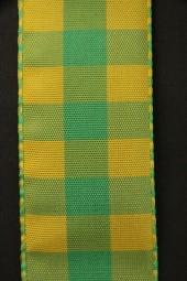 Chester Karo gelb grün 40 mm 25 m