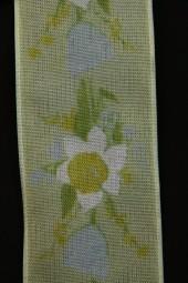 Marita Blumemotiv gelb grün 40 mm 20 m