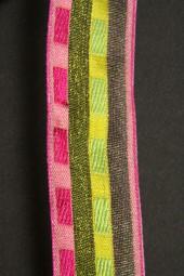 Pappus pink hellgrün 25 mm 20 m