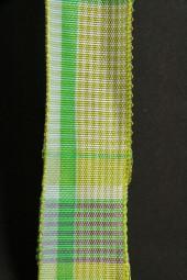 Borneo grün kariert 20 mm 20 m