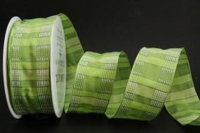 Mantua grün weiss 40 mm 20m